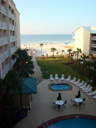 View From Our Room Picture Of Hilton Garden Inn Orange Beach Orange Beach Tripadvisor