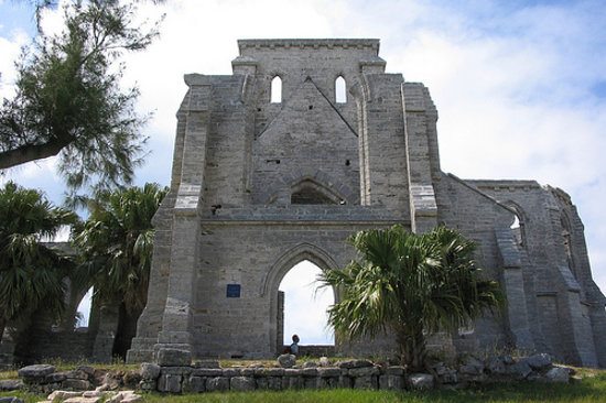 Unfinished Church, St. George, Bermuda