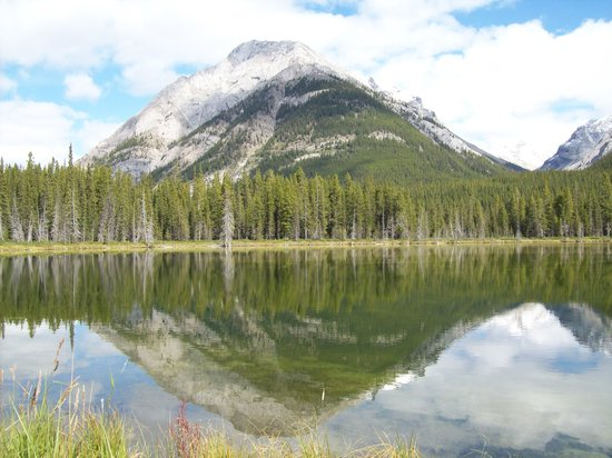 Kananaskis Country, Kanada: Reflections of local beauty
