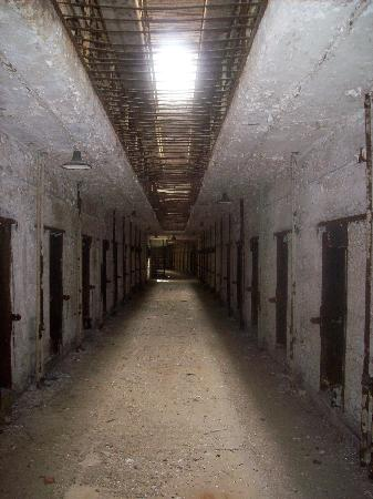 Death row cell block