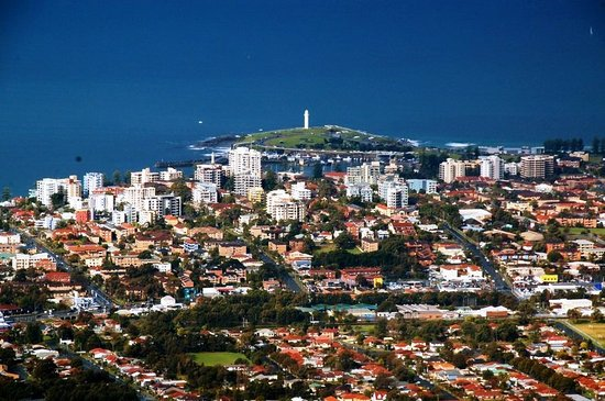 Wollongong, Australien: The setting
