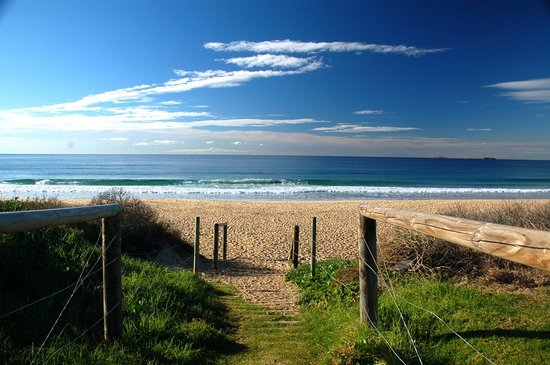 Wollongong, Australien: City beach