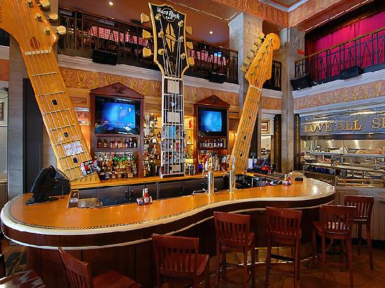 Hard Rock Cafe Interior Design