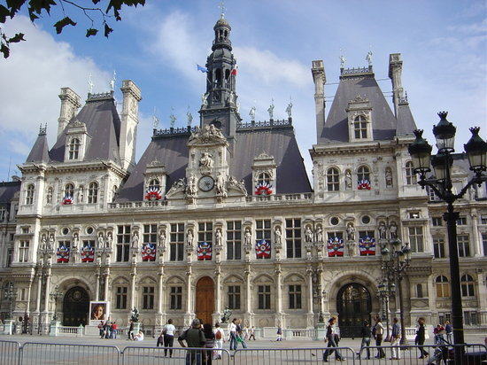 hotel de ville paris france address phone number