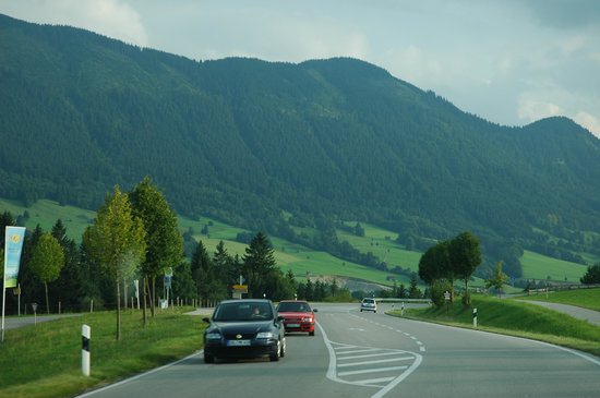 Strada Romantica, Germania: green fields