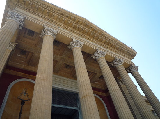 Palermo, Italy: teatro massimo