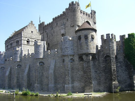 Belgi: Castle of Counts - Ghent