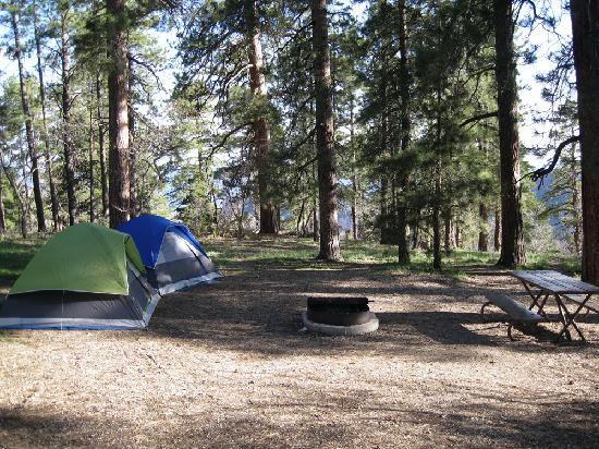 North Rim Campground: Site #16