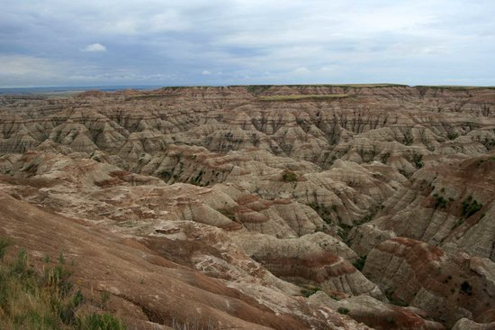 ‪‪Badlands National Park‬, ‪South Dakota‬: volcanic decor‬