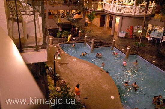 Enjoying swimming pool in august 2008 9pm - Swimming pools burlington ontario ...