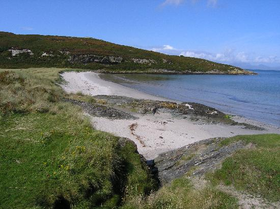 Westbank House: Beach on Gigha