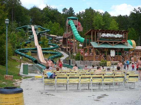 Waterside Retreat At Splash Country Dollywood Picture Of