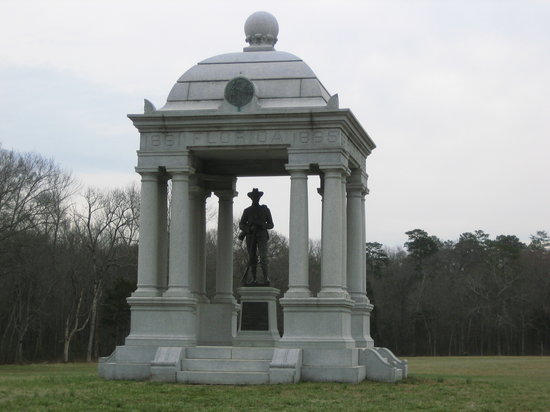 Fort Oglethorpe, Джорджия: Great monuments