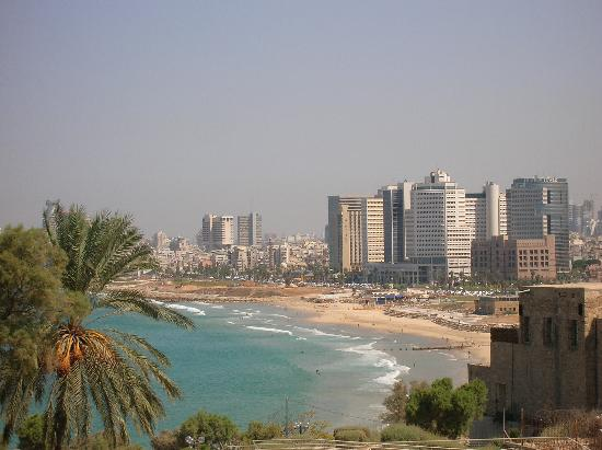 Hotel Ness Ziona: The view of Tel Aviv beaches from Jaffa
