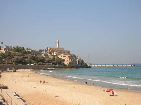 Hotel Ness Ziona: The view of Jaffa from the beach