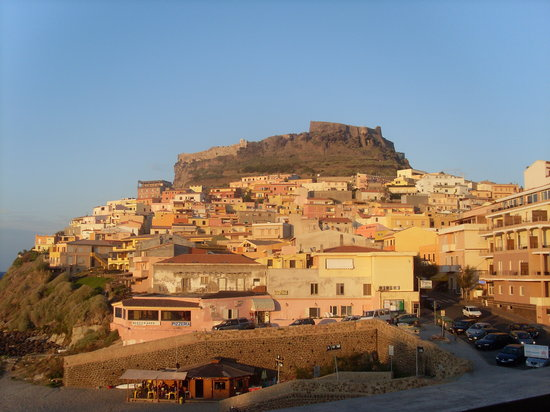 Castelsardo, Italien: View from our room