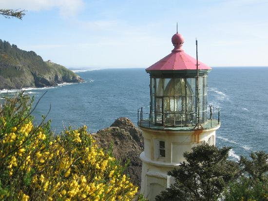 Yachats, : Heceta Head Light House