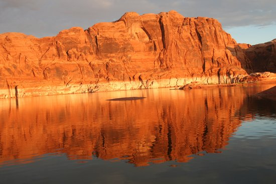 Lake Powell, : Marker 38