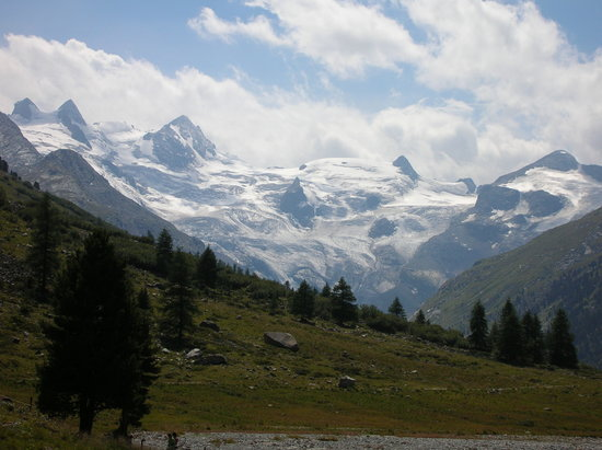 Pontresina, Schweiz: Rosegggletscher