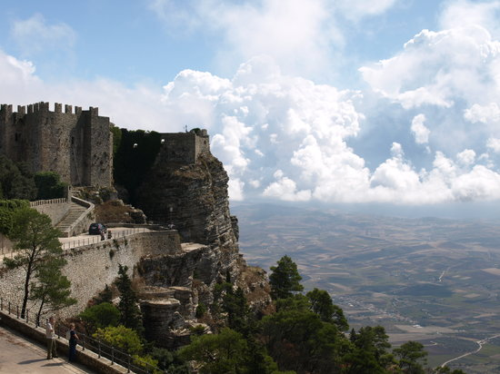 Erice - about 1 hour from Scopello