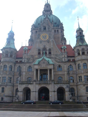 Hannover, Germany: Exterior of Rathaus