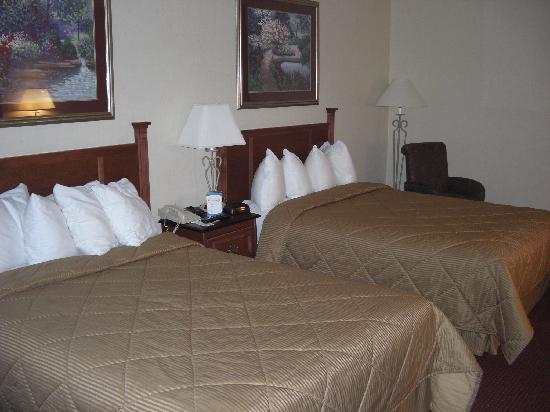 College Park Hotel & Suites near Univ. of Maryland: Spacious room