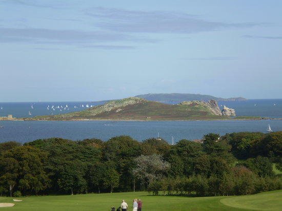 Howth, Irlanda: view from our room this week