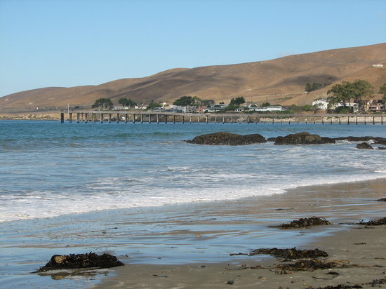 Cayucos, Californië: Beach to myself