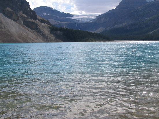 Parc national Banff, Canada : Bow Lake &amp; Glacier 