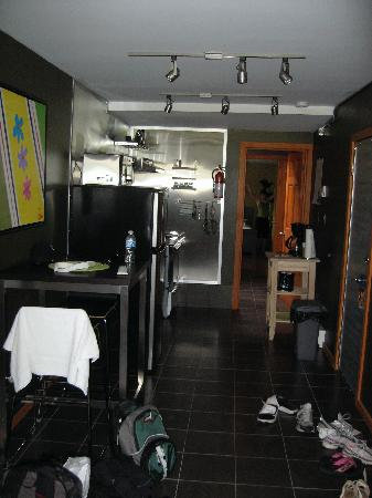 Kitchen And Hall Picture Of Rock View Lofts Squamish Tripadvisor
