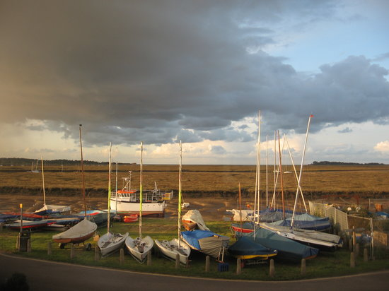 Wells-next-the-Sea, UK: View from East Quay