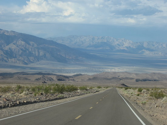 Going into Death Valley from Beatty