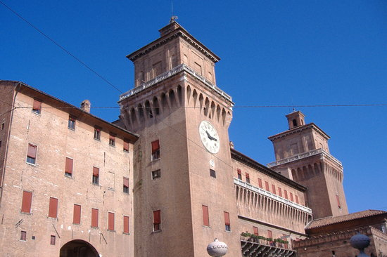 Ferrara, Italie : Castello Estense 