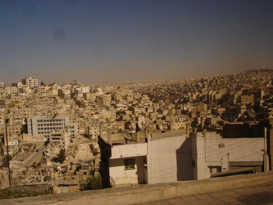Amman, Jordan: Vista de la ciudad