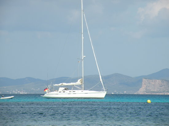 Formentera, Spanien: Yacht
