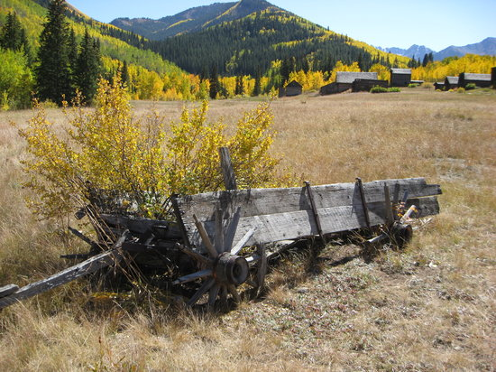 Aspen, CO: Ghost town of Ashcroft Sept2008