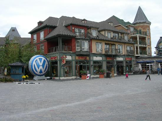 Blue Mountain Rivergrass: Shops in the village