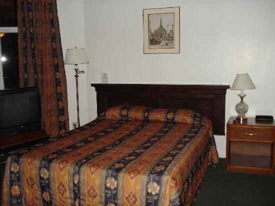 Hotel l'Ermitage: One of the beds