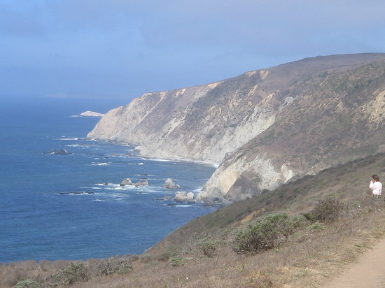 Point Reyes Station, Калифорния: Tomales Point Trail