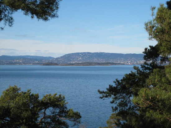 Осло, Норвегия: Oslo - seen from Ingierstrand
