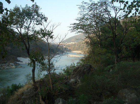 Rishikesh, Indien: sunrise