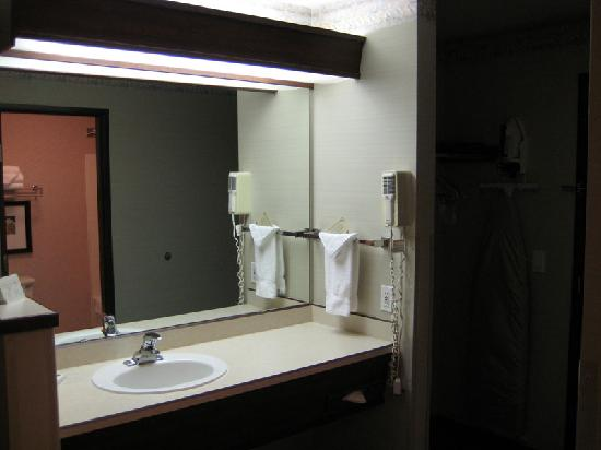 DoubleTree by Hilton Hotel North Salem: Bathroom