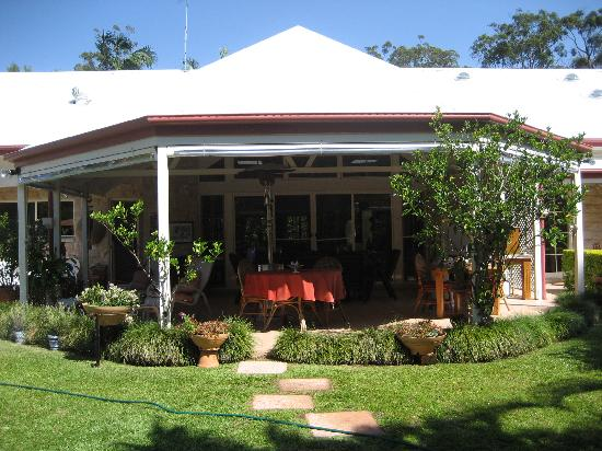 Noosa Valley Manor: The Terrace