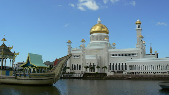 Bandar Seri Begawan, Brunei Darussalam: Sultan Umar Ali Saifudden Mosque