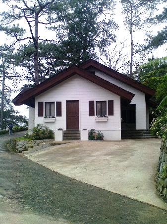 Parking Lot Of Our Cottage Picture Of Baguio Country