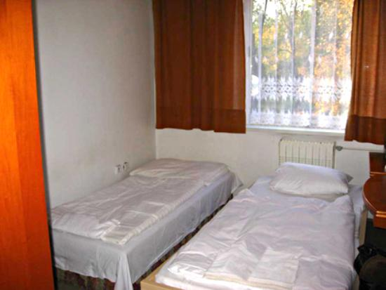 Tuchlovice, Tjeckien: smallest double room in Prague