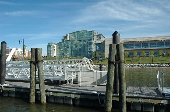 Hampton Inn & Suites National Harbor/Alexandria Area: National Harbor, Gaylord Conv Ctr from water taxi to Alexandria