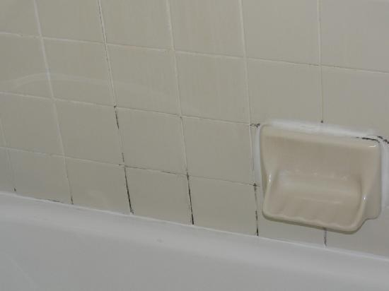 Quality Inn &amp; Suites-Capital District: More grout at Quality Inn