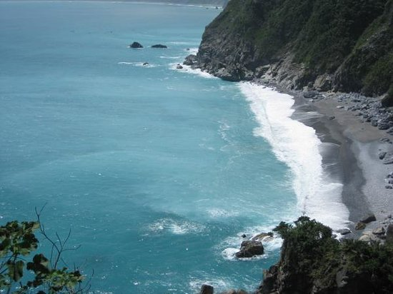 Hualien, Tawan : Cingshui Cliff 