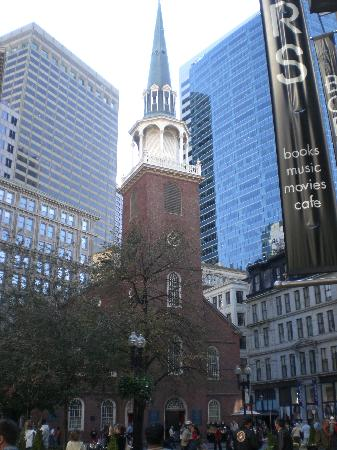 Old south meeting house boston
